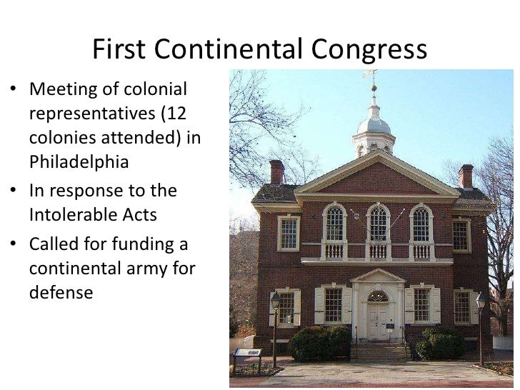 a history of the continental congress The stamp act congress, formed by colonials to respond to the unpopular stamp act taxes, was the direct precursor of the continental congress, which was itself formed largely in response to the so-called intolerable acts the first continental congress was planned through the permanent.