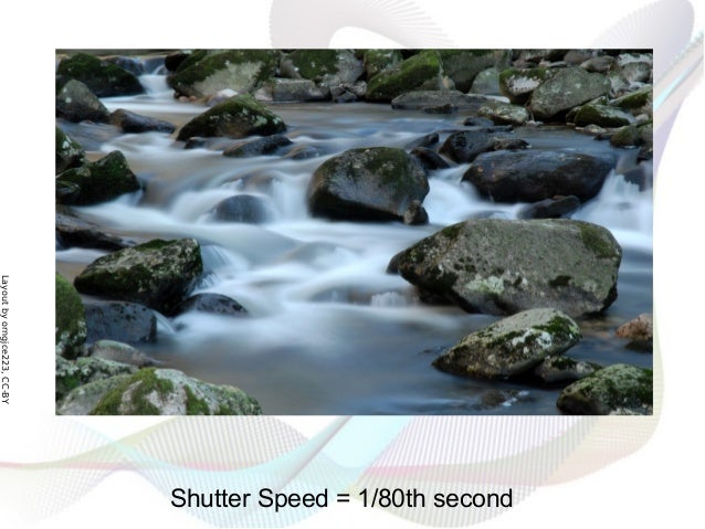 Layoutbyorngjce223,CC-BY Shutter Speed = 1/80th second