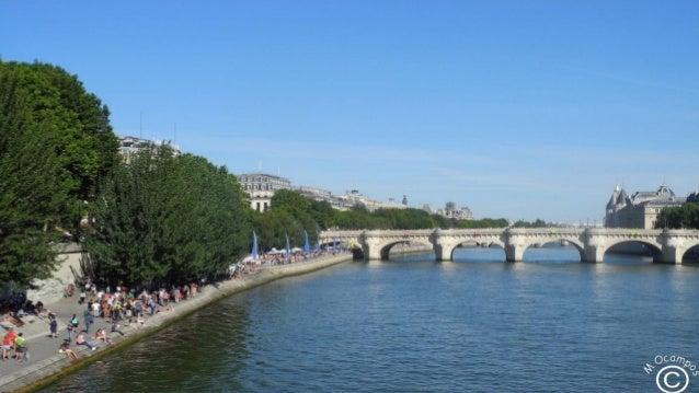 Summer,Sena, Paris Slide 2