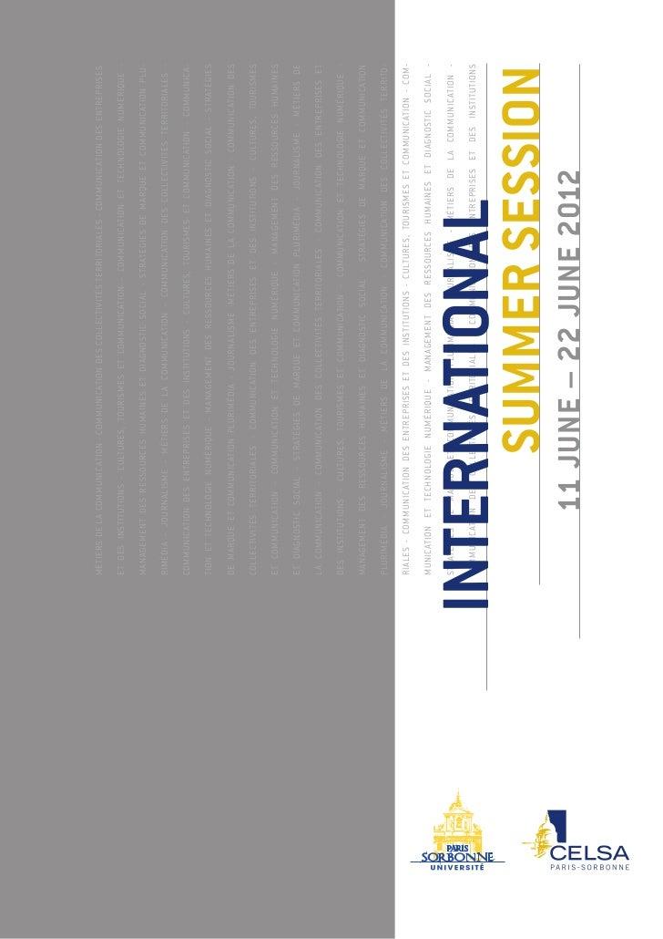Métiers de l a Communication - Communication des Collectivités Territoriales - Communication des entreprises et des instit...