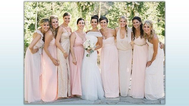 Spring Wedding Party Dresses