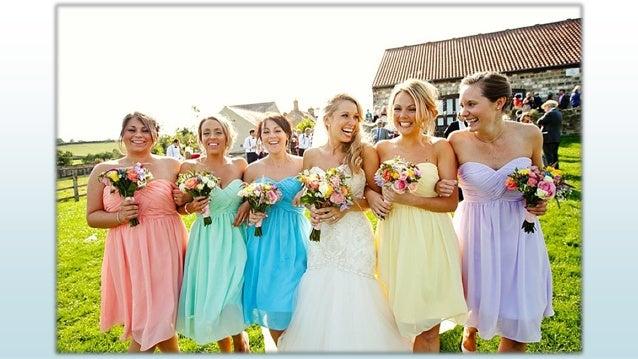 Summer spring wedding bridesmaids inspiration for Spring summer wedding dresses