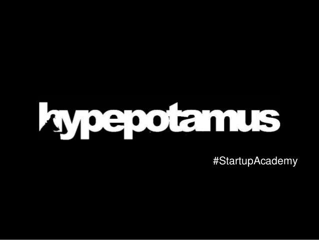 #StartupAcademy