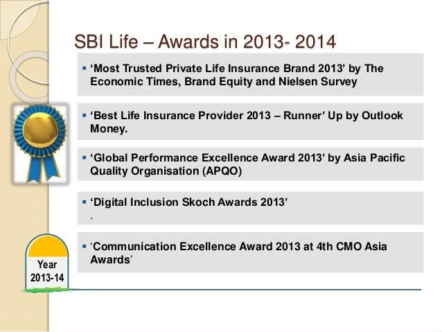 R & S in sbi life insurance