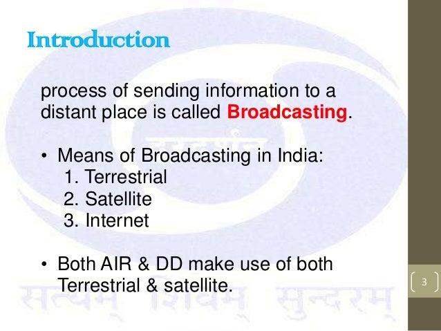 Summer training at Doordarshan presentation Slide 3