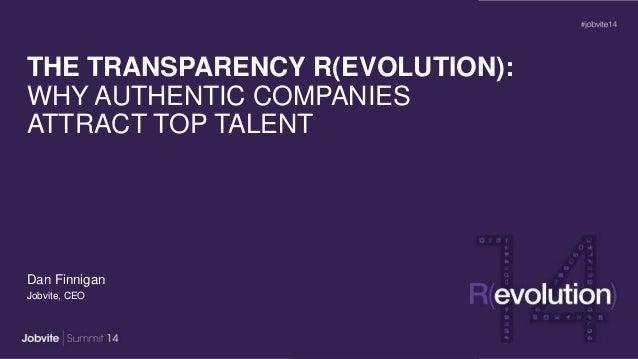 Summit14: Keynote1_TransparencyRevolution_Finnigan