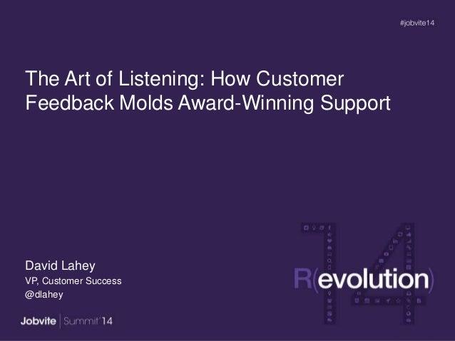 Summit14: Keynote3 - Customer Feedback - Lahey