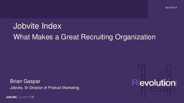 Summit14 -T3.2: Jobvite Index -Gaspar