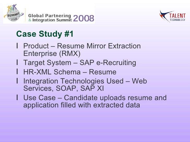 hr xml global partnering and integration summit 2008
