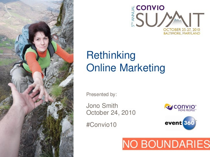 Rethinking Online Marketing: Using Inbound Marketing to Grow Your Fundraising