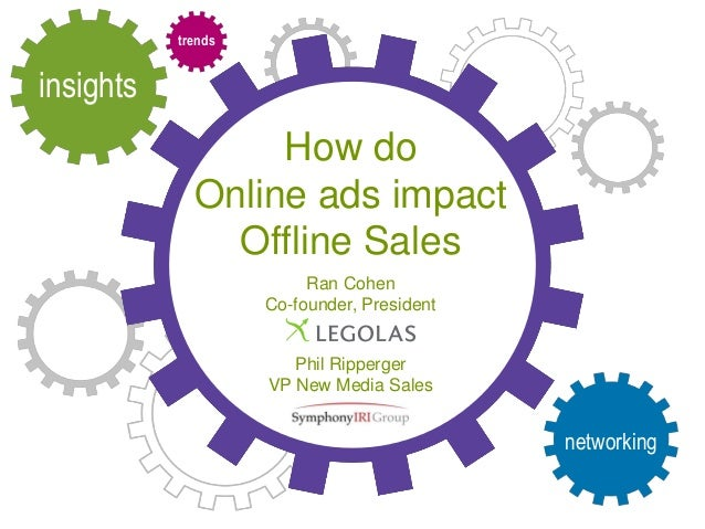 insights trends networking How do Online ads impact Offline Sales Ran Cohen Co-founder, President Phil Ripperger VP New Me...
