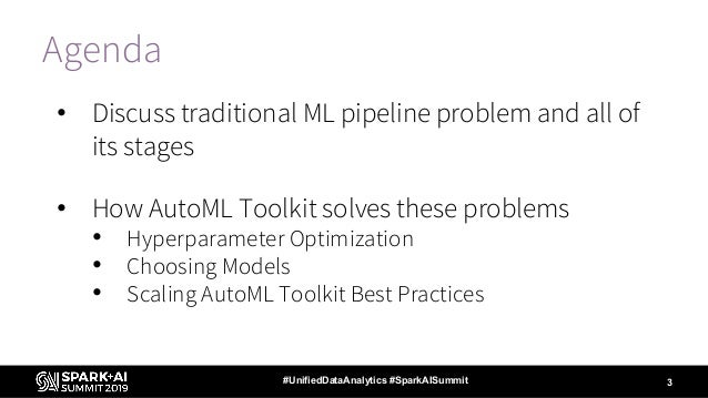 Augmenting Machine Learning with Databricks Labs AutoML Toolkit Slide 3