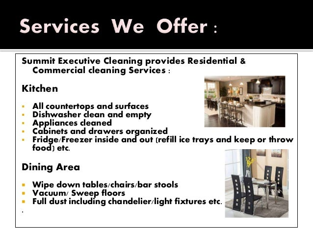 Avail the Best And Affordable Cleaning Services in Summit County Slide 3