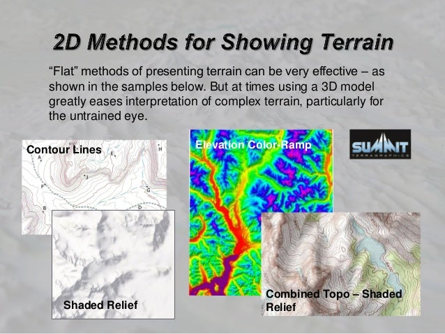 3D Printed Terrain Models and Maps -- Current State of Technology and…