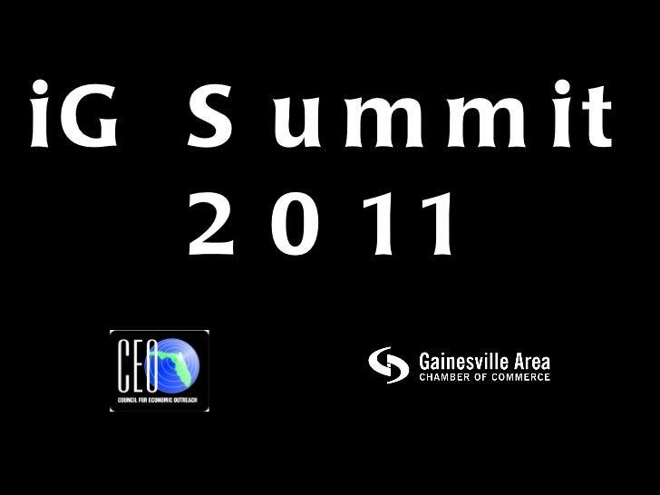 iG Summit 2011