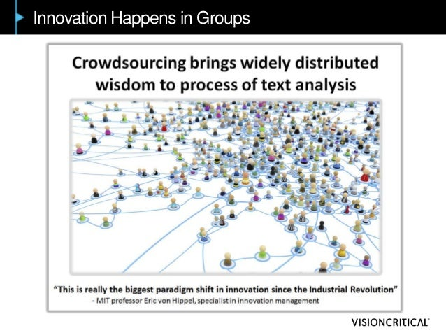 Innovation Happens in Groups