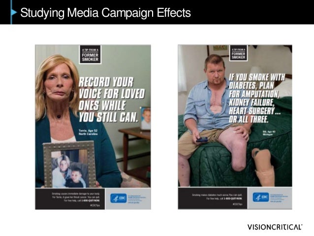 Studying Media Campaign Effects