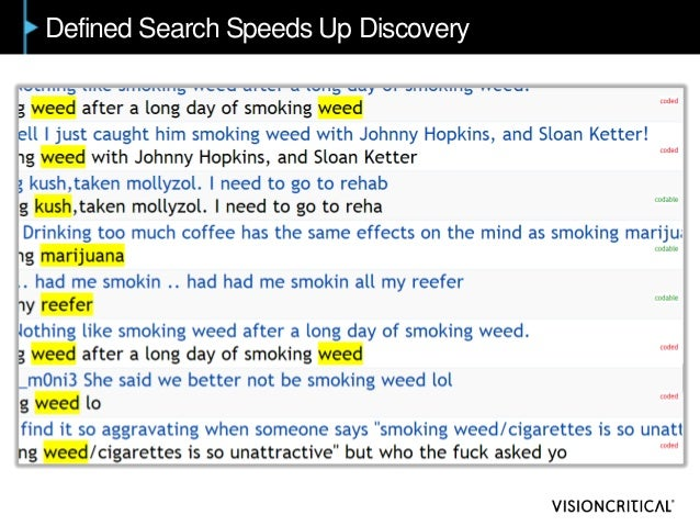 Defined Search Speeds Up Discovery