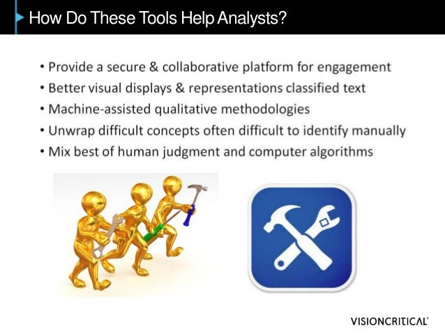 How Do These Tools Help Analysts?