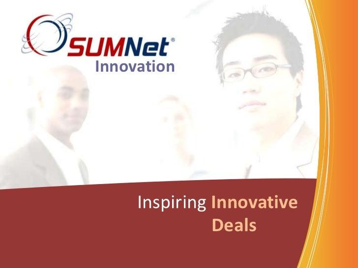 Innovation     Inspiring Innovative               Deals