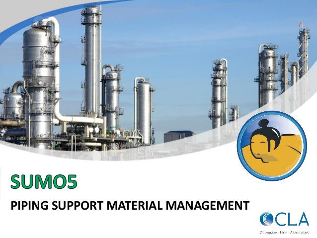 PIPING SUPPORT MATERIAL MANAGEMENT