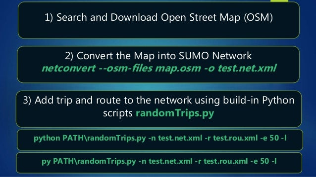 Sumo, Simulation of Urban Mobility, (DLR, Open Source) tutorial