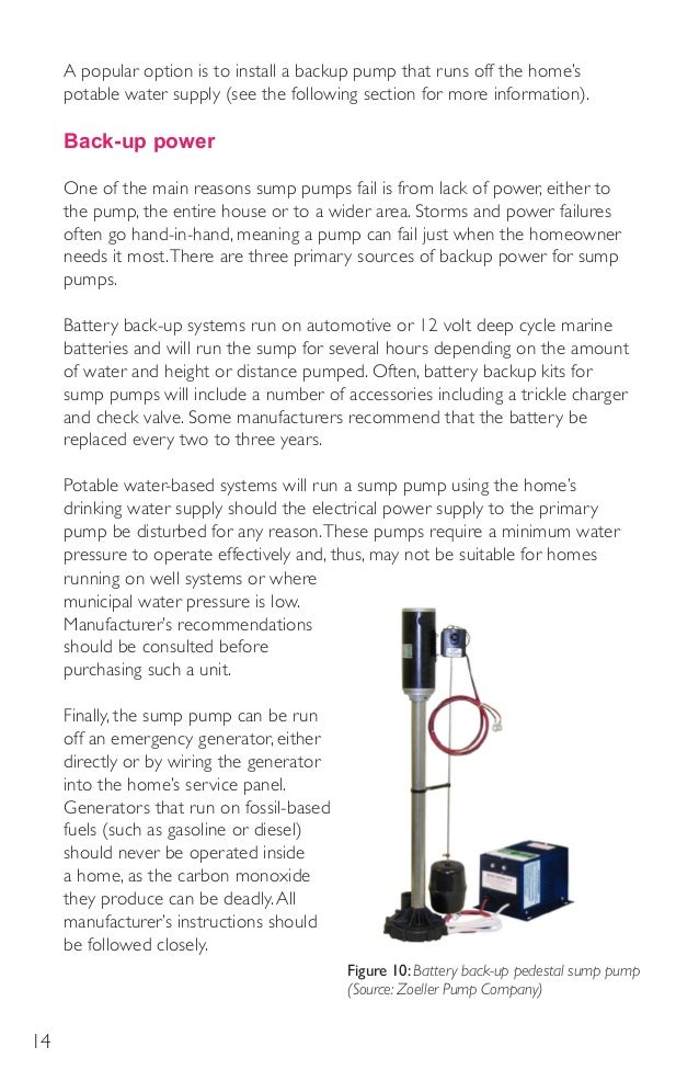 home well pump systems focus on sump pump systems