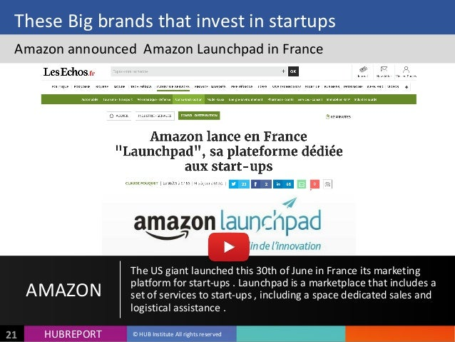 HUB  REPORTHUBREPORT ©  HUB  Institute  All  rights  reserved21 These  Big  brands  that  invest  in...