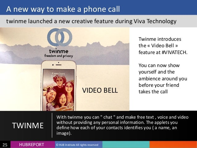 HUB  REPORTHUBREPORT ©  HUB  Institute  All  rights  reserved25 A  new  way  to  make  a  phone  ...