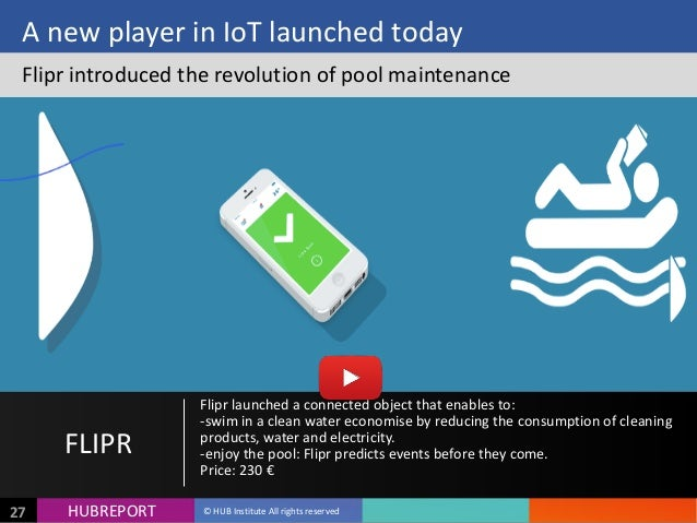 HUB  REPORTHUBREPORT ©  HUB  Institute  All  rights  reserved27 A  new  player  in  IoT  launched  ...