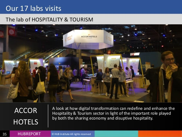 HUB  REPORTHUBREPORT ©  HUB  Institute  All  rights  reserved35 Our  17  labs  visits The  lab  of ...