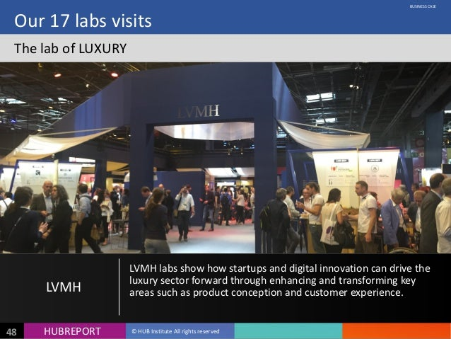 HUB  REPORTHUBREPORT ©  HUB  Institute  All  rights  reserved48 Our  17  labs  visits The  lab  of ...