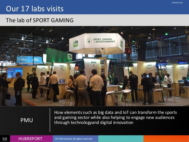 HUB  REPORTHUBREPORT ©  HUB  Institute  All  rights  reserved50 Our  17  labs  visits The  lab  of ...