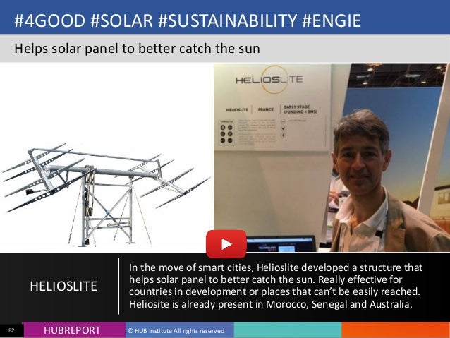 HUB  REPORTHUBREPORT ©  HUB  Institute  All  rights  reserved82 #4GOOD  #SOLAR  #SUSTAINABILITY  #ENGIE ...