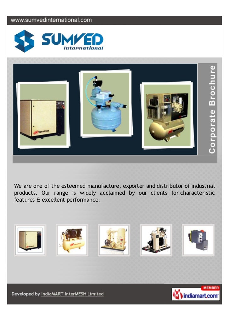 We are one of the esteemed manufacture, exporter and distributor of industrialproducts. Our range is widely acclaimed by o...