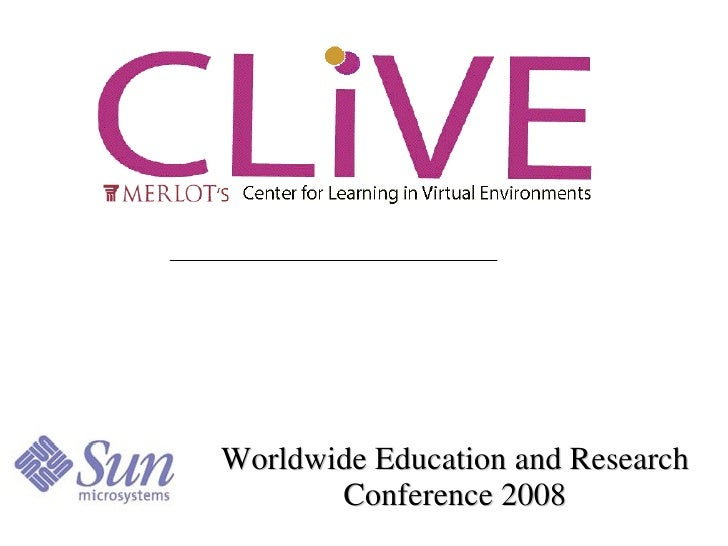 Worldwide Education and Research Conference 2008