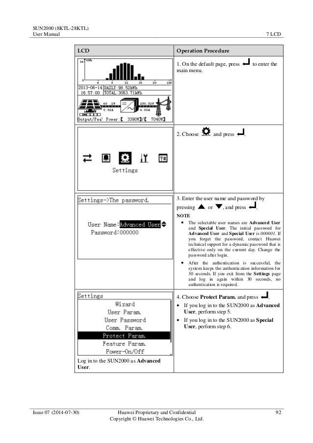 Sun2000 (8 ktl 28ktl) user manual 07
