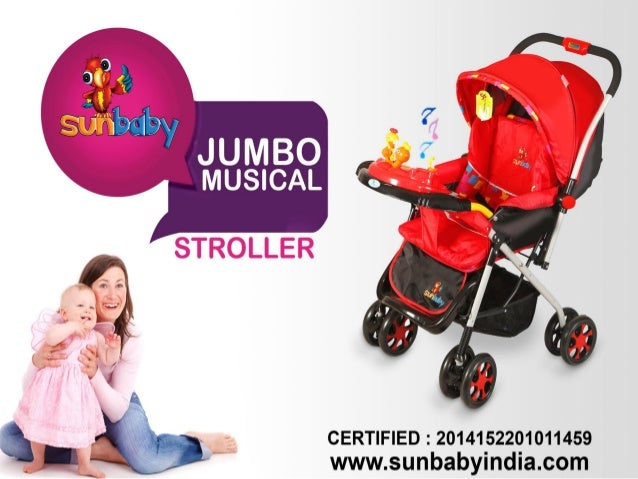38657d603 Sunbaby Exclusive Range of Baby Strollers in India
