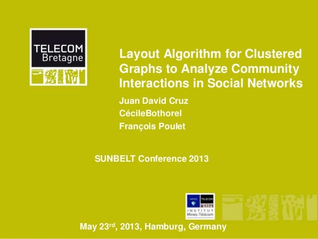 Layout Algorithm for ClusteredGraphs to Analyze CommunityInteractions in Social NetworksJuan David CruzCécileBothorelFranç...