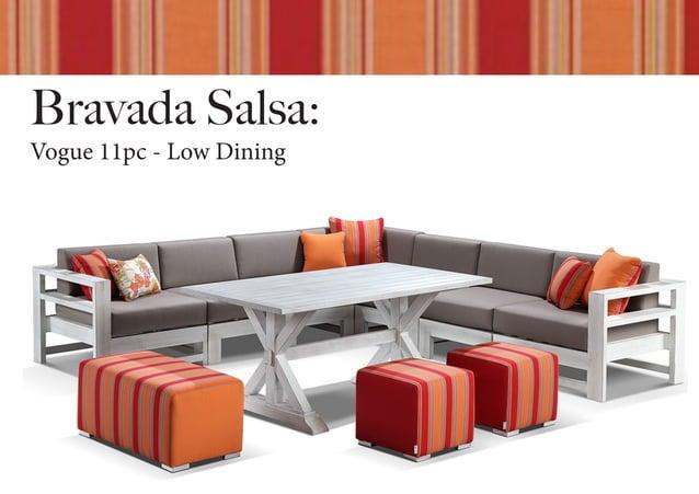 Bravada Salsa: Vogue 11pc - Low Dining