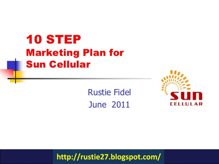 Sun cellular business plan how to write a reflection statement
