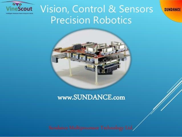 Vision, Control & Sensors Precision Robotics Sundance Multiprocessor Technology Ltd. www.SUNDANCE.com