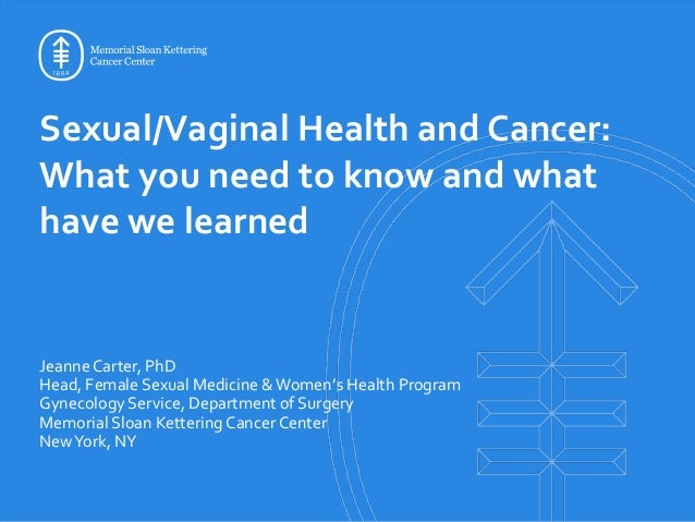 Sexual health oncology conferences