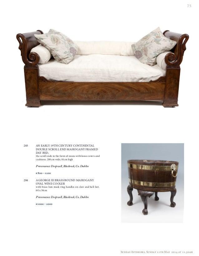 Sunday Interiors Auction Ireland 11th May 2014