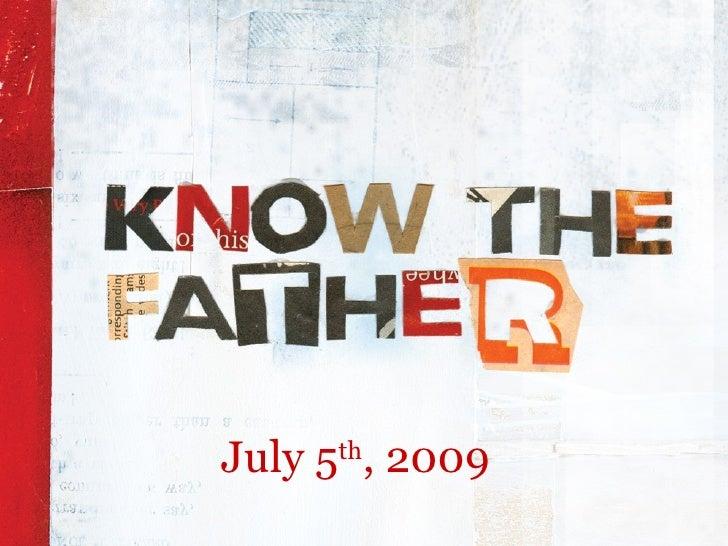 July 5th, 2009