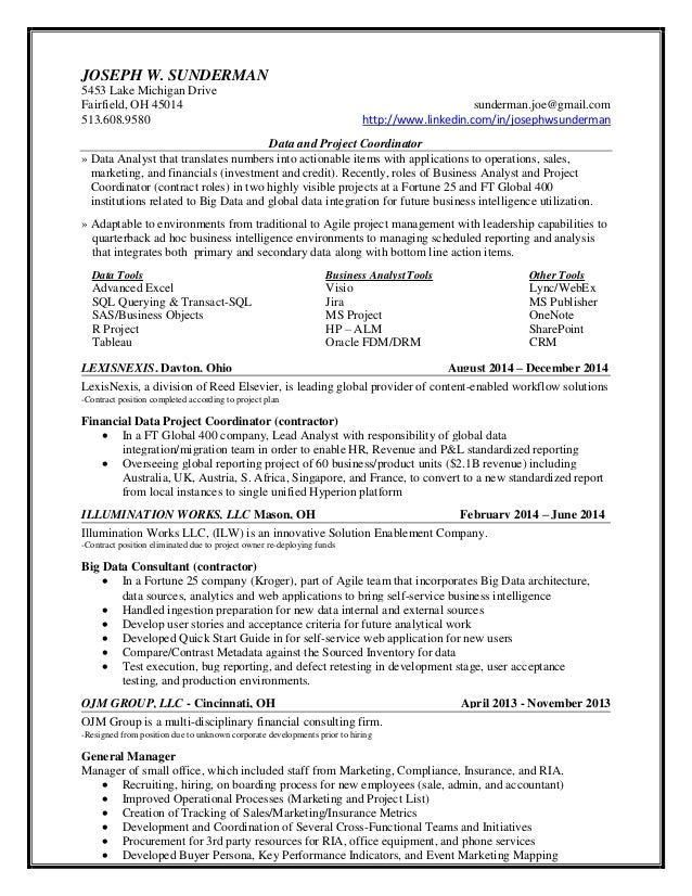 Business Objects Resume. business objects administrator resume ...