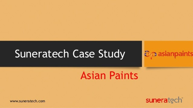 case study asian paints scm Asian paints - manager - human resource  - study health and hygiene requirements,  - take disciplinary measures in case of misconducts.