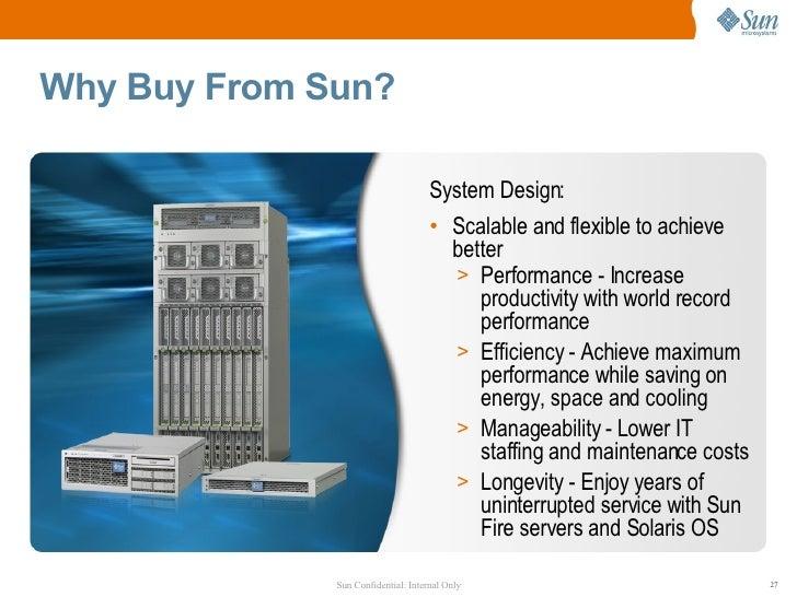 Sun fire x4140, x4240, x4440 server customer presentation