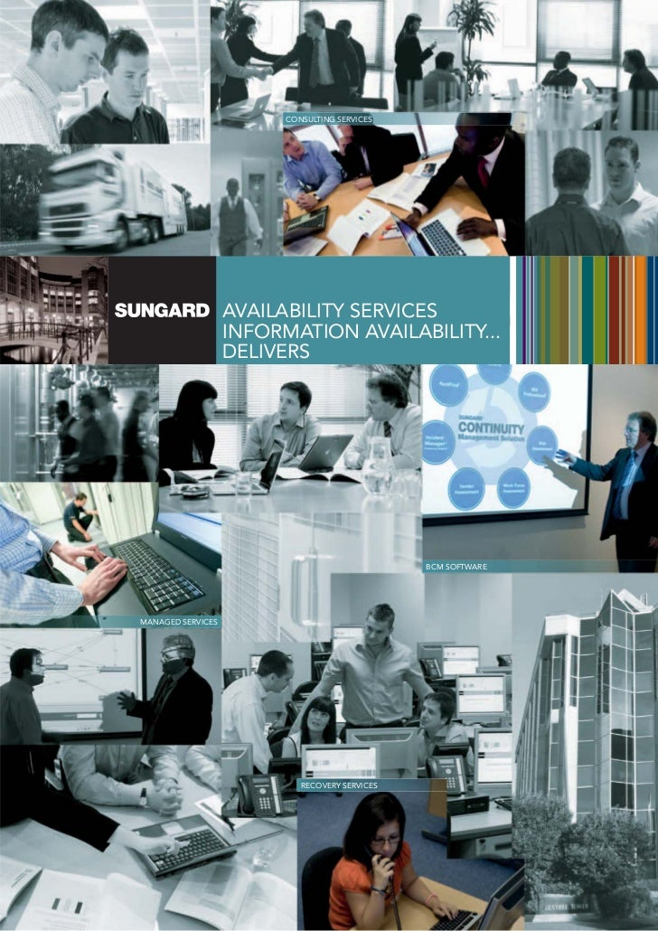 CONSULTING SERVICES                   AVAILABILITY SERVICES                   INFORMATION AVAILABILITY...                 ...