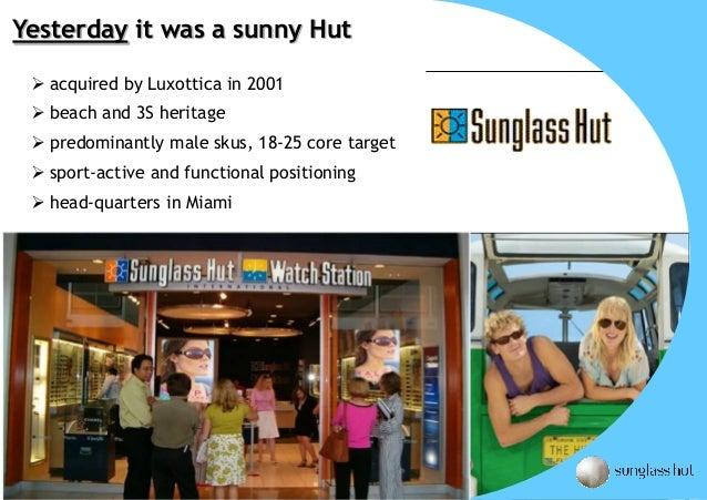 7e7e4be5d1 Sunglass Hut Business Overview - 2010